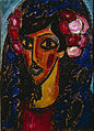 Alexej von Jawlensky - The Blue Mantilla - Google Art Project.jpg
