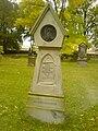 Alfred Clebsch grave 2009.jpg