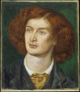 Algernon Charles Swinburne - Algernon Charles Swinburne, 1862, by Dante Gabriel Rossetti.