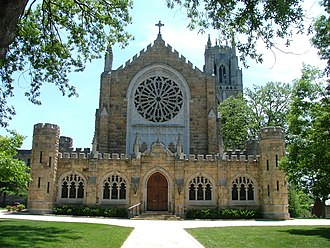 Sewanee: The University of the South - All Saints' Chapel