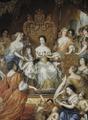 Allegori över änkedrottning Hedvig Eleonoras förmyndarregering (David Klöcker Ehrenstrahl) - Nationalmuseum - 174867.tif