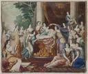 Allegori över kung Karl XIIs födelsedag (Andreas von Behn) - Nationalmuseum - 38875.tif