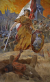 Allegory of the Polish Victory 1920, Forward Warsaw!.PNG