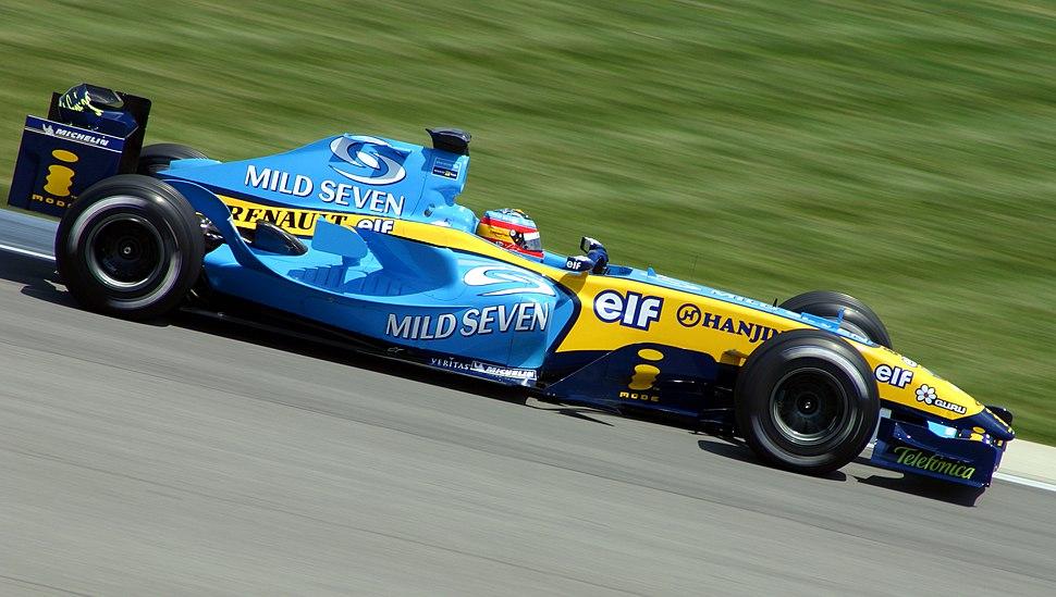 Alonso US-GP 2004