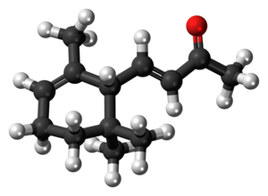 Ionone - Image: Alpha Ionone 3D ball