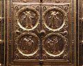 Altare di s. ambrogio, 824-859 ca., retro di vuolvino, arcangeli e scene di omaggio 01.jpg