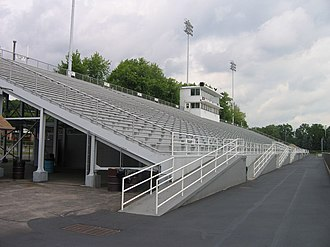 Altoona Area High School - Mansion Park home side, summer 2007