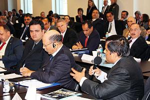 Near East South Asia Center for Strategic Studies - Participants in a NESA Seminar