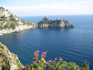 Capo Conca at Conca dei Marini, Almalfi Coast ...