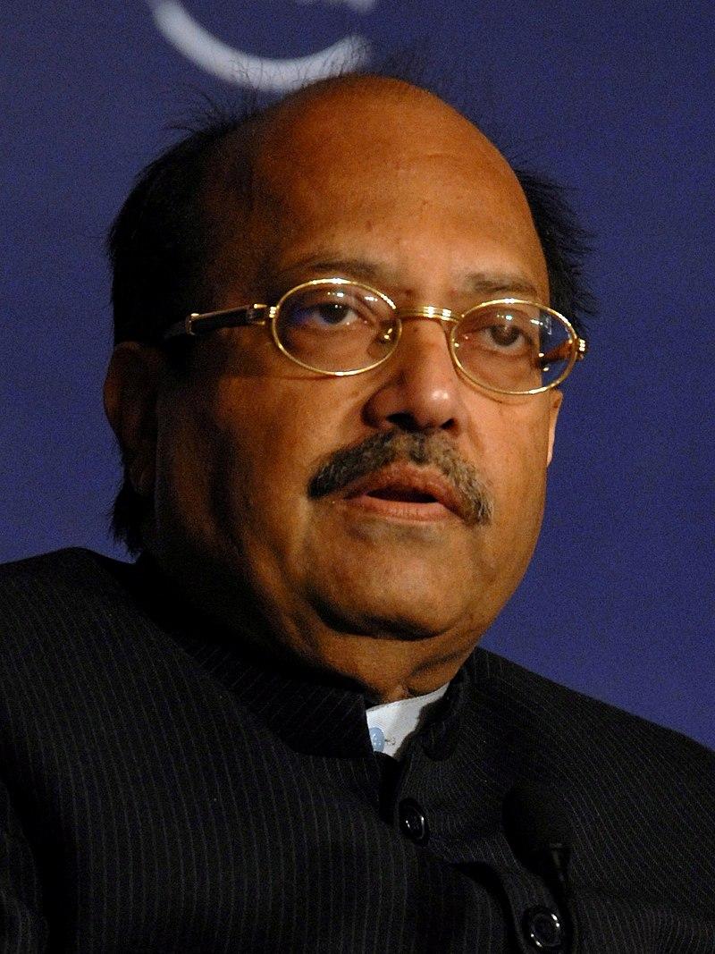 Amar Singh at the India Economic Summit 2008 cropped.jpg