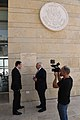 Ambassador Friedman interviews to Ch10 and Ch 2 (42302172021).jpg