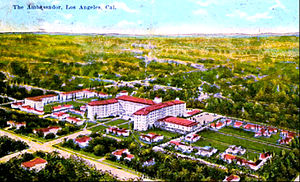 Ambassador Hotel (Los Angeles) - The hotel in 1921