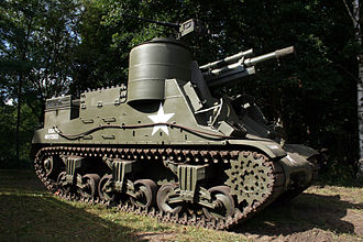 M7 Priest - Tanks museum Brussels (Belgium)