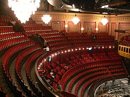 Theaterzaal van Theater Carré.