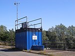 An Air Quality Monitoring Station above the M42 - geograph.org.uk - 210181.jpg