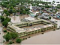 An aerial view taken from the IAF relief Helicopter of the flood-affected areas in Gujarat on July 3, 2005 (4).jpg