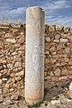 An inscribed marble cylinder on the Acropolis of Athens on April 28, 2021.jpg