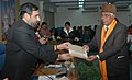 Anand Sharma presenting the third prize, of Bhartendu Harishchandra Awards-2006, in Journalism and Mass Communication to Shri Seetaram Khodawal, in New Delhi on January 06, 2009.jpg