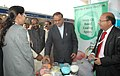 Ananthkumar and the Minister of State for Chemicals & Fertilizers, Shri Hansraj Gangaram Ahir visiting at the Fertilizer Association of India annual seminar 2014 on 'Unshackling the Fertilizer Sector', in New Delhi.jpg