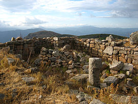 Ruins of the chapel of St. Cyr