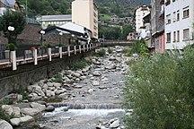 Andorra-Idrografia-Andorra Encamp rio JMM