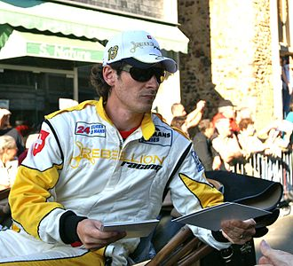 Andrea Belicchi - Belicchi at the 2010 24 Hours of Le Mans Drivers' Parade