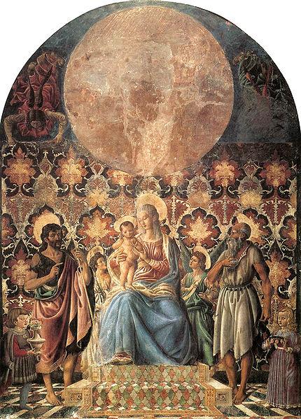 Archivo: Andrea del Castagno, madonna col bambino da colelzione Contini bonacossi.jpg