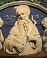 Andrea della robbia, s. antonio abate e due angeli oranti, 1492-95 ca., da oratorio di s. antonio abate, 03.jpg