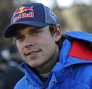 Andreas Mikkelsen World Rally Championship driver
