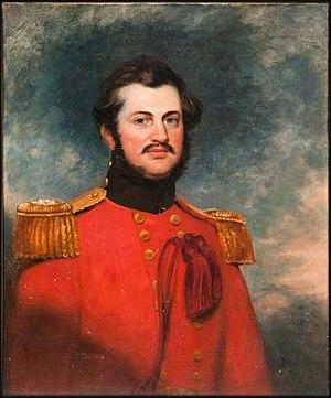 Andrew Scott Waugh - 1852 painting by George Duncan Beechey