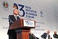 Andrzej Duda podczas Forum Inicjatywy Trójmorza w Bukareszcie.jpg