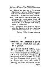 Anerbietung eines Unterrichts im Färben des Türkischen Garns, von einem Färber in Franken, S. 109-111