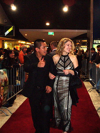 Anh Do - Anh Do with wife Suzanne in 2005, walking the red carpet at the premiere of Footy Legends