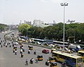 Anna Salai seen from Chennai MRTS near Willingdon Bridge.JPG