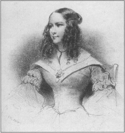 Anna Thillon Anna Thillon when young - NYPL - Lawrence 1995 p225.png