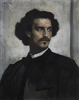 Anselm Feuerbach - Self-Portrait - Google Art Project