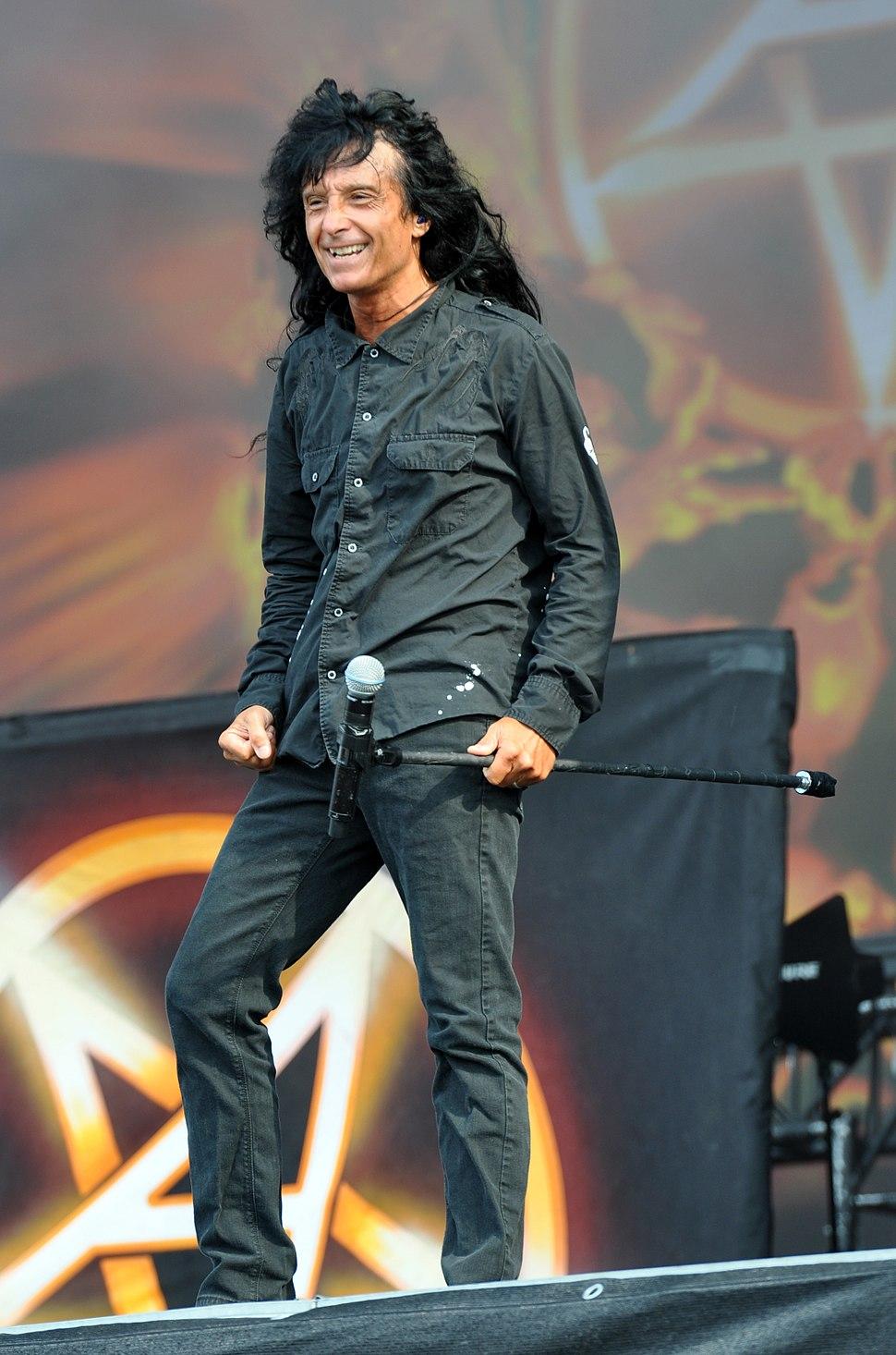 Anthrax, Joey Belladonna at Wacken Open Air 2013