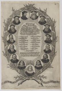 title of head of Reformed Church of Switzerland during 16th to 19th centuries
