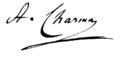 Antoine Charma, signature (1855).tiff