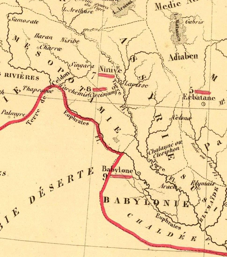 Antoine Philippe Houze . L'Empire des Perses. 1844 (L)