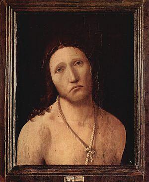 Ecce Homo (Antonello da Messina) - Image: Antonello da Messina 003