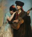 Antonia de Bañuelos-Thorndike - The Guitar Player.png