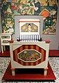Antonio rubino, camera da bambino, industria veneziana di mobili laccati, 1924 circa, letto 01.jpg