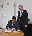 Antrittsbesuch ukrainischer Botschafter Pavlo Klimkin im Rathaus von Köln-7268.jpg