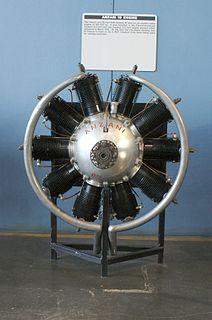 Anzani 10-cylinder 1910s French aircraft piston engine