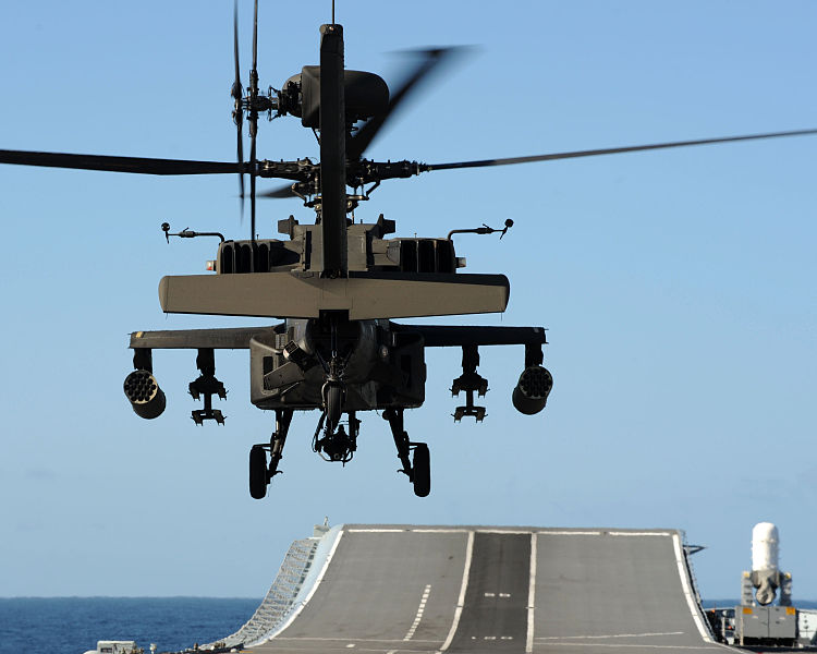File:Apache Helicopter Operations on HMS Ark Royal MOD 45151999.jpg