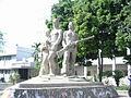 Aparajeyo Bangla statue.jpg