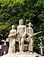 Aparajeyo Bangla statue 3, 2017 September.jpg
