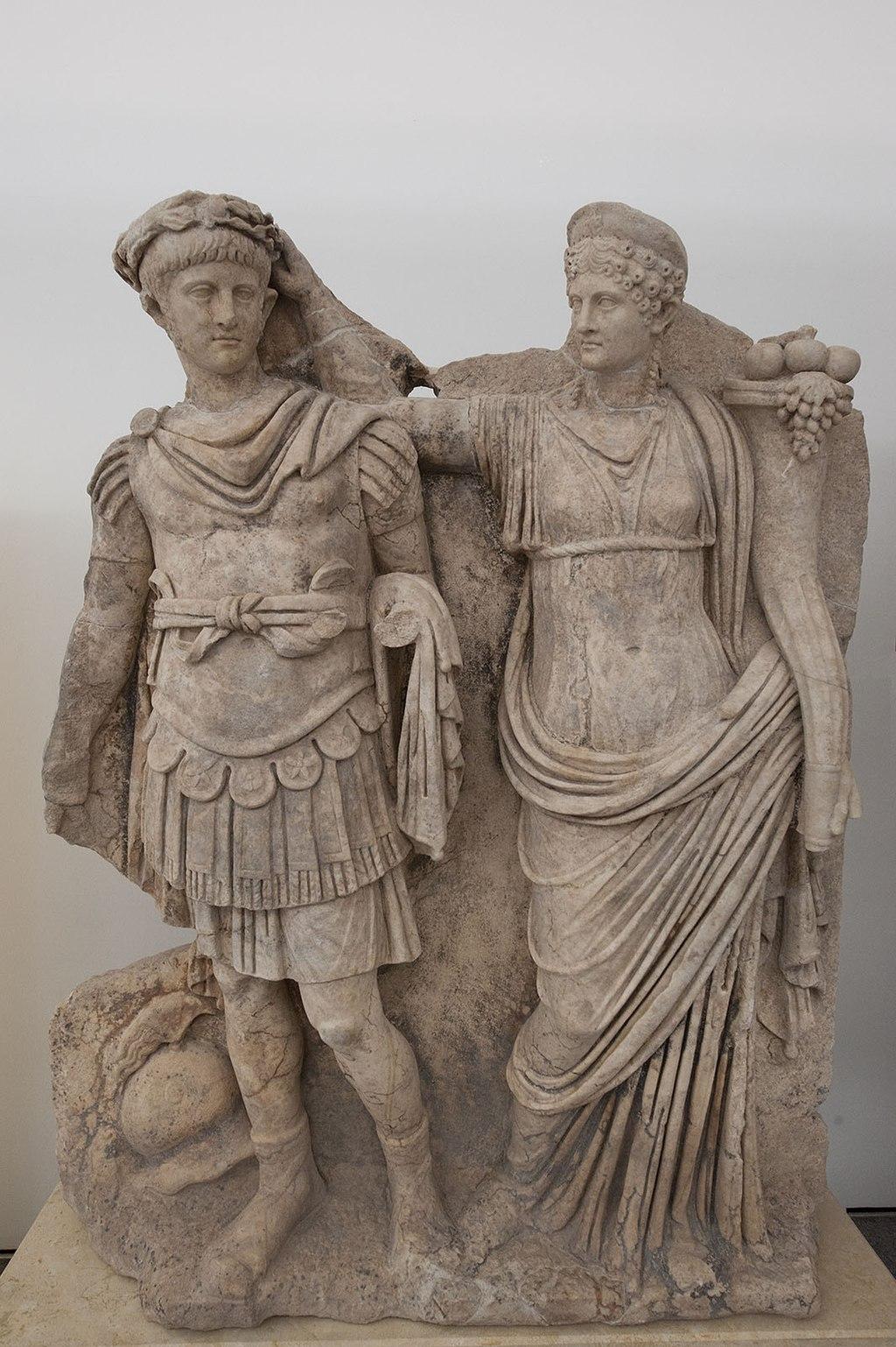 Aphrodisias Museum Nero and Agrippina 4626