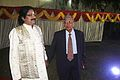 Arabinda Muduli With Sitakant Mahapatra (Poet) 02.jpg